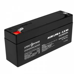 LogicPower LPM-6-2.8 AH аккумулятор