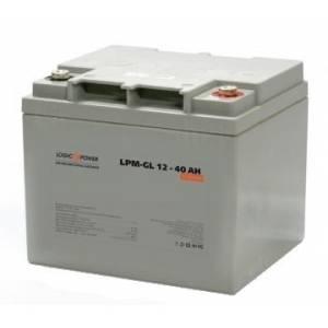 LogicPower LPM-GL 12 - 40 AH аккумулятор гелевый