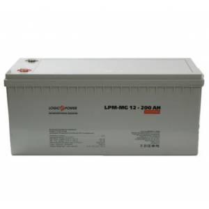 LogicPower LPM-MG 12 - 200 AH аккумулятор мультигелевый