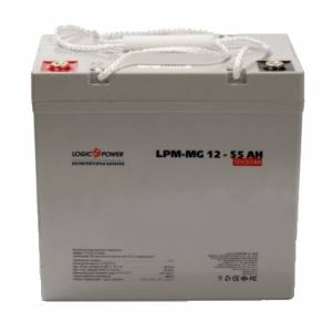 LogicPower LPM-MG 12 - 55 AH аккумулятор мультигелевый
