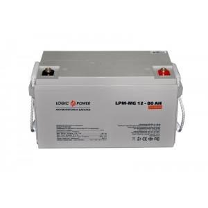 LogicPower LPM-MG 12 - 80 AH аккумулятор мультигелевый