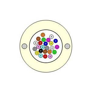 MCP FTTHBuildingRiser 16x9/125 G.657 A1 LSZH кабель оптический внутренний для вертикальной прокладки