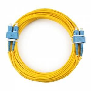 MCP SC/UPC-SC/UPC-DX(DUPLEX)-SM-2mm-5m, (LC/UPC) патчкорд оптический внутренний