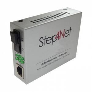 Медиаконвертер Step4Net (SC, SM, TX 1550, RX 1310, 100Мб, 20км)