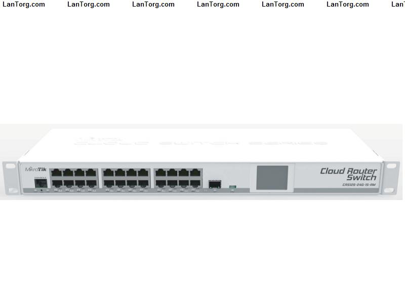Mikrotik Cloud Router Switch Crs125 24g 1s Rm купить в