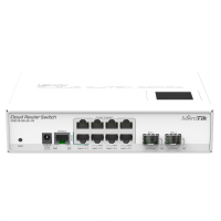 Mikrotik Cloud Router Switch CRS210-8G-2S+IN