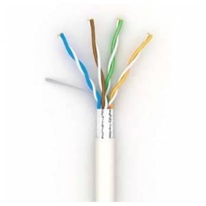 Одескабель КПВЭ-ВП (100)  FTP cat.5e Cu (медь) 4 пары 0,48 мм, внутренний, PVC, 305 м (49577)