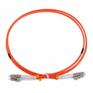 Патч-корд оптический внутренний LC/UPC-LC/UPC MM Duplex 3mm 3 m