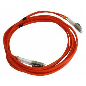 Патч-корд оптический внутренний LC/UPC-LC/UPC MM Duplex 3mm 5 m