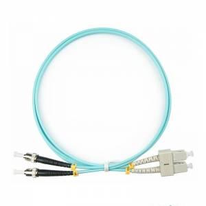 Патч-корд оптический внутренний SC/UPC-ST/UPC MM Duplex 3mm 1 m