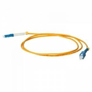 Патч-корд оптический внутренний SC/UPC-LC/UPC SM Simplex 3mm 1 m