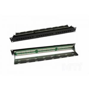"""Патч-панель Molex PID-00234-04 19"""", 24xRJ45, UTP, кат. 5е, 1U"""