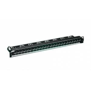 """Патч-панель Molex PID-00257 19"""", 24 кейстоуна, STP, 1U"""