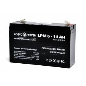 LogicPower LPM 6-14 AH аккумулятор