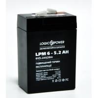 LogicPower LPM 6-5.2 AH аккумулятор