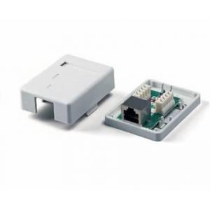 Розетка Logicpower (LPS-212) 1-порт. RJ-45, кат.5e FTP/SFTP