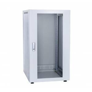 Шкаф телекоммуникационный напольный 18U С-18U-06-08-ДС-ПГ-1-7035