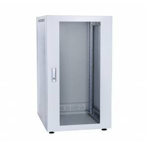 Шкаф телекоммуникационный напольный 24U С-24U-06-06-ДС-ПГ-1-7035