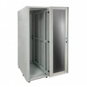 Шкаф телекоммуникационный напольный 42U С-42U-06-08-ДС-ПГ-1-7035