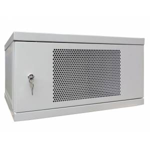 Шкаф телекоммуникационный настенный 15U СН-15U-06-06-ДП-1-7035