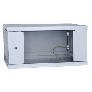 Шкаф телекоммуникационный настенный 15U СН-15U-06-06-ДС-1-7035