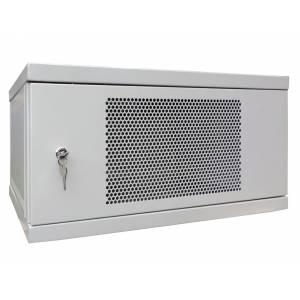 Шкаф телекоммуникационный настенный 9U СН-9U-06-06-ДП-1-7035