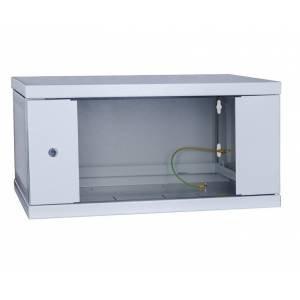 Шкаф телекоммуникационный настенный 9U СН-9U-06-06-ДС-1-7035