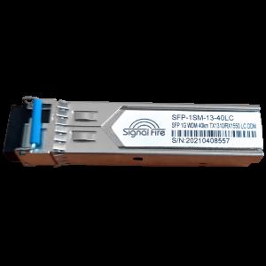 Signal Fire SFP 1G WDM 40km TX1310/RX1550 LC DDM модуль (SFP-1SM-13-40LC)