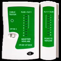 Тестер кабельный LogicPower LP-468N  (RJ45/RJ12)