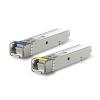 Ubiquiti SFP модуль LC SM 1.25 G 1310-1550nm 3km (UF-SM-1G-S) BiDi, пара