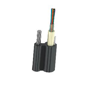 UTEX ОКП8(2,7)Т-08 2,7 кН подвесной оптический кабель с тросом