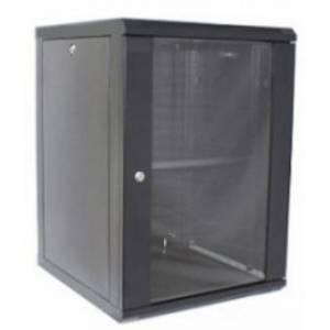 Hypernet WMNC-15U-FLAT- BLACK шкаф коммутационный настенный 15U 600x450 разборной