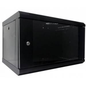 Hypernet WMNC-6U-FLAT- BLACK шкаф коммутационный настенный 6U 600x450 разборной