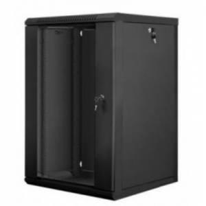 Hypernet WMNC66-18U-FLAT- BLACK шкаф коммутационный настенный 18U 600x600 разборной