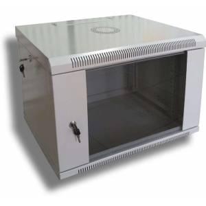 Hypernet WMNC66-6U-FLAT шкаф коммутационный настенный 6U 600x600 разборной