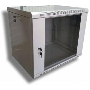 Hypernet WMNC66-9U-FLAT шкаф коммутационный настенный 9U 600x600 разборной